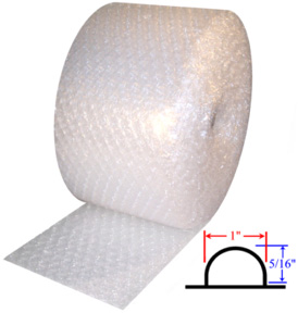 Medium 5/16'' Bubble Rolls