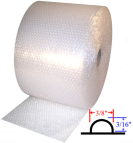 Small 3/16'' Bubble Rolls