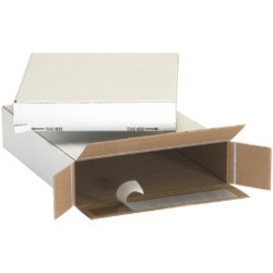 9 1/4'' x 3'' x 6 3/4''  Self Seal Side Loading Boxes - bundle of 25