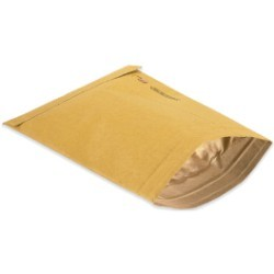 10 1/2'' x 16'' (5) Kraft  Padded Mailers - case of 100