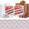 3'' x 375' White  Central - 255 Reinforced Tape - case of 8