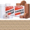 3'' x 375' Kraft  Central - 255 Reinforced Tape - case of 10