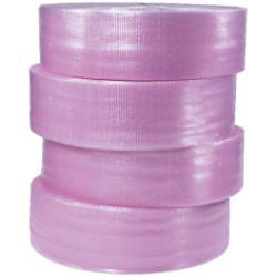 3/16'' x 12'' x 750' - (4) Anti-Static Air Bubble Rolls - bundle of 2