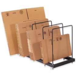 44'' x 18'' x 26'' Portable Carton Stand - each