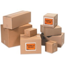 11'' x 11'' x 5''  Corrugated Boxes - bundle of 25