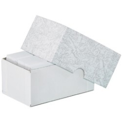 3 3/4'' x 2 1/4'' x 1 3/4''  Stationery Set-Up Cartons - case of 100