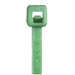 11'' Green Cable Ties - case of 1000