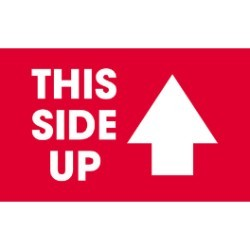 3'' x 5'' - ''This Side Up'' Labels - 500 per roll