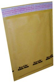 #1 - 7.25x12'' Kraft Paper Bubble Mailers 15ct