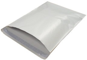 14x17'' White Poly Courier Mailers 500ct
